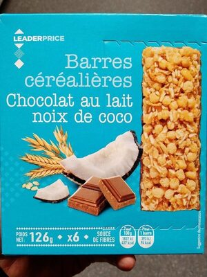 Barres céréalières - Produit - fr