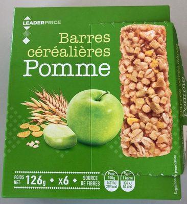 Barre cerealieres Pomme - Produit