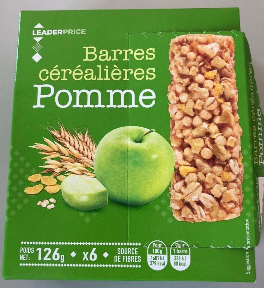 Barre cerealieres Pomme - Produit - fr
