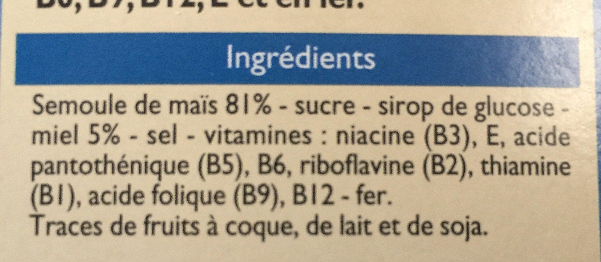 Topmiel - Ingrediënten - fr