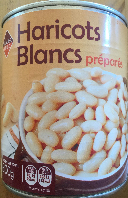 Haricots blancs prépares - Product