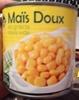 Maïs doux en grains sous vide - Produit