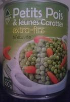 petits pois et jeunes carottes extra-fins - Produit - fr