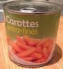Carotte Extra-fines - Product