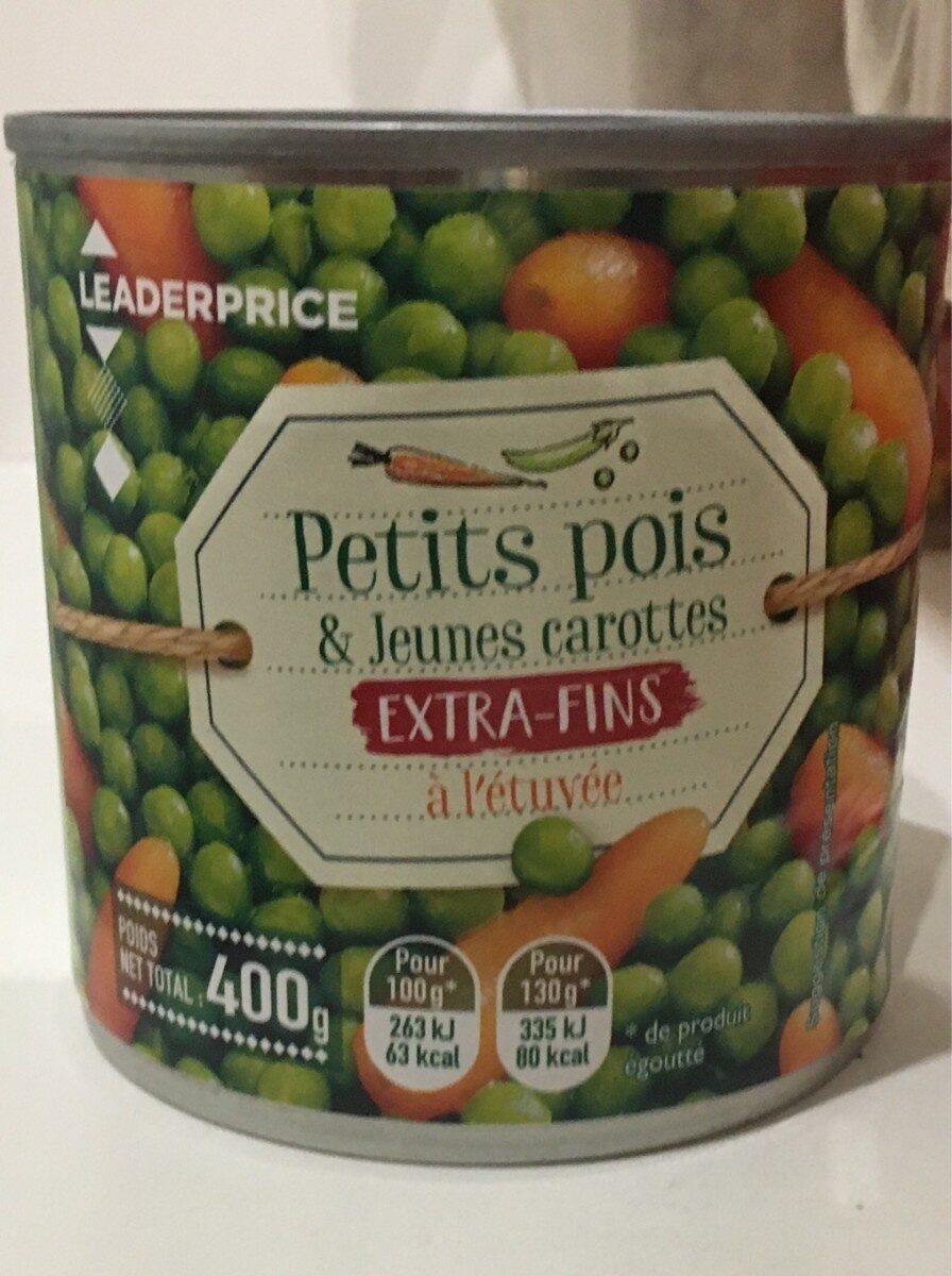 Petit pois & jeunes carottes - Product - fr