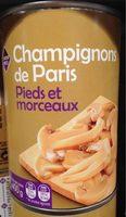Champignons de Paris Pieds et Morceaux - Product