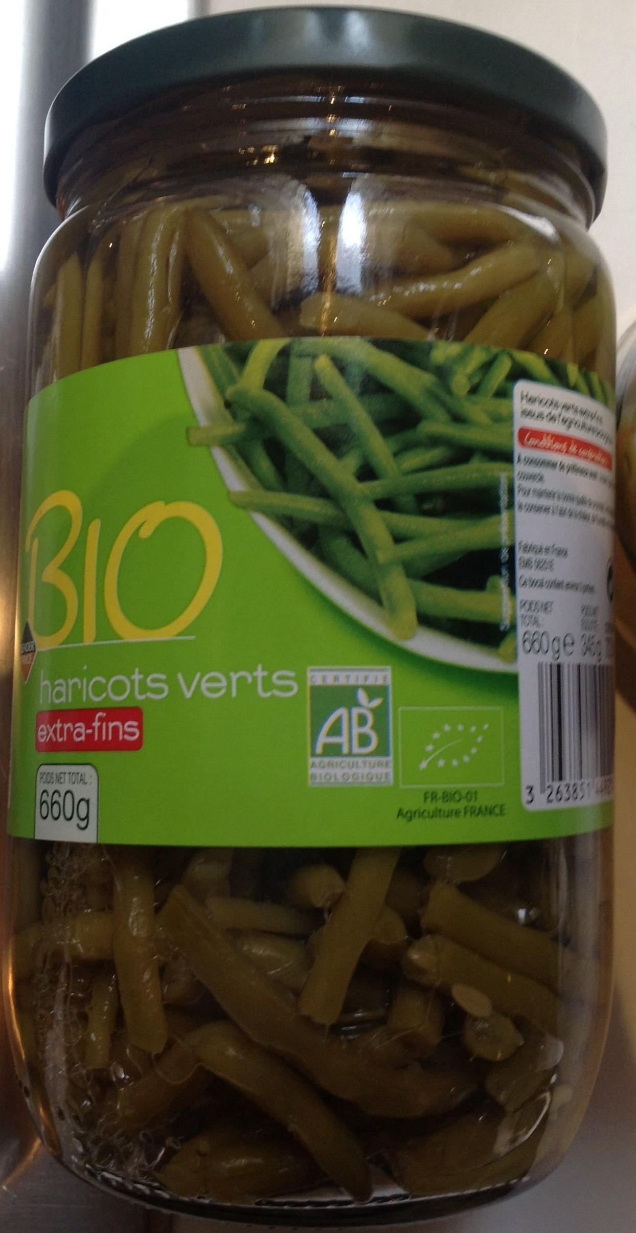 Haricots verts extra-fins Bio - Produit - fr