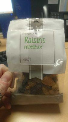 Raisins moelleux - Product - fr