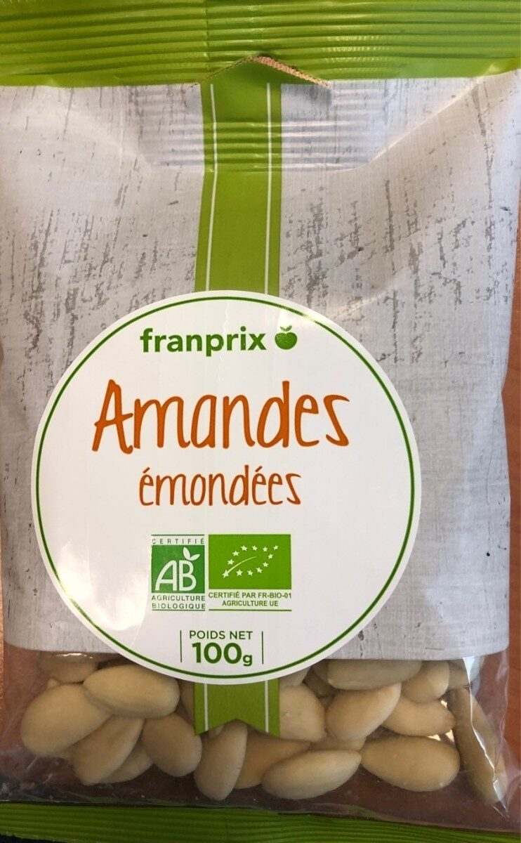 Amandes emondees - Product - fr