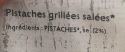 Pistache - Ingrédients - fr