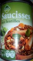 Saucisses aux lentilles - Produit