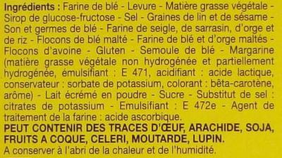 Chapelure - Ingredients
