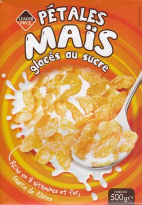 Pétales Maïs glacés au sucre - Product