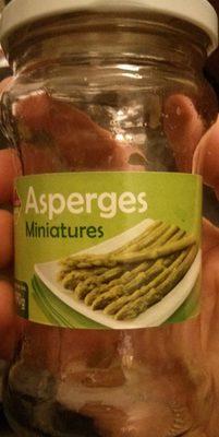 Asperges miniatures - Produit