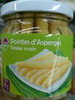 Pointes d'asperges pelées main - Product