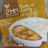 Poulet au Curry et son Riz - Produit - fr
