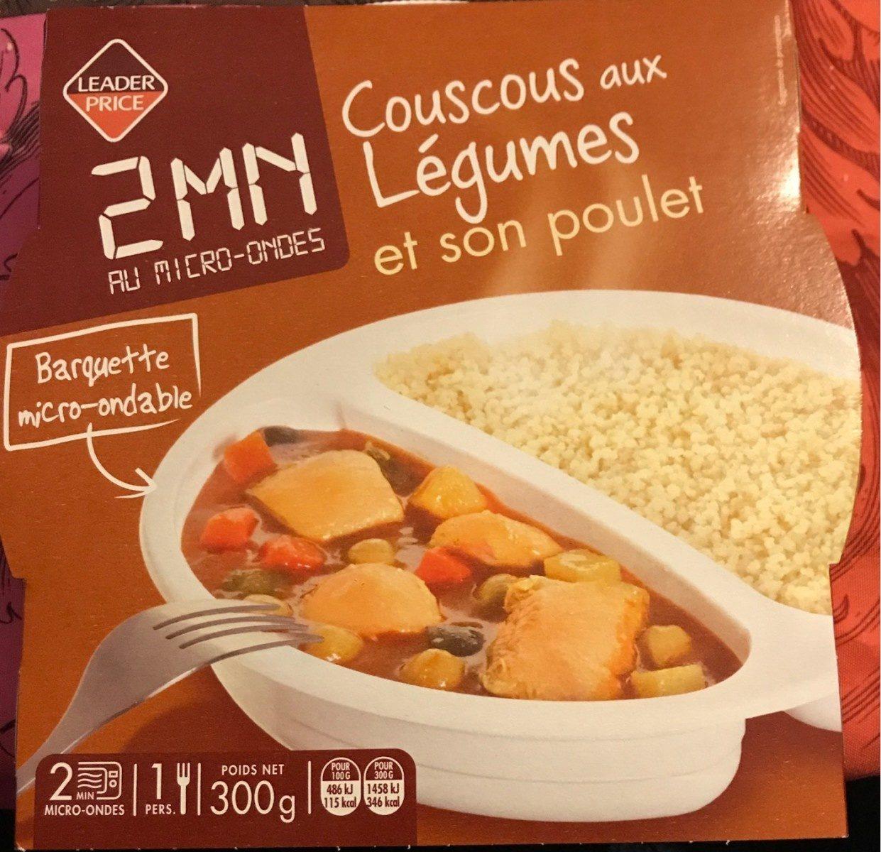 Couscous aux légumes et son poulet - Produkt - fr
