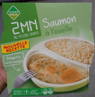 Saumon à l'oseille - Produkt