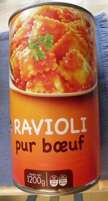 Ravioli Pur Bœuf Leader Price - Produit - fr