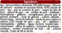 Cassoulet aux haricots blanc - Ingrediënten