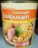 Cassoulet toulousain au petit salé de Porc - Product