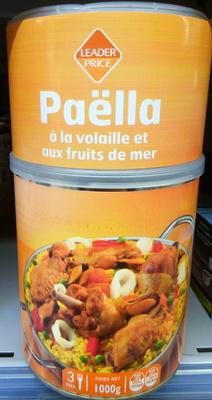 Paëlla à la volaille et aux fruits de mer - Produit - fr
