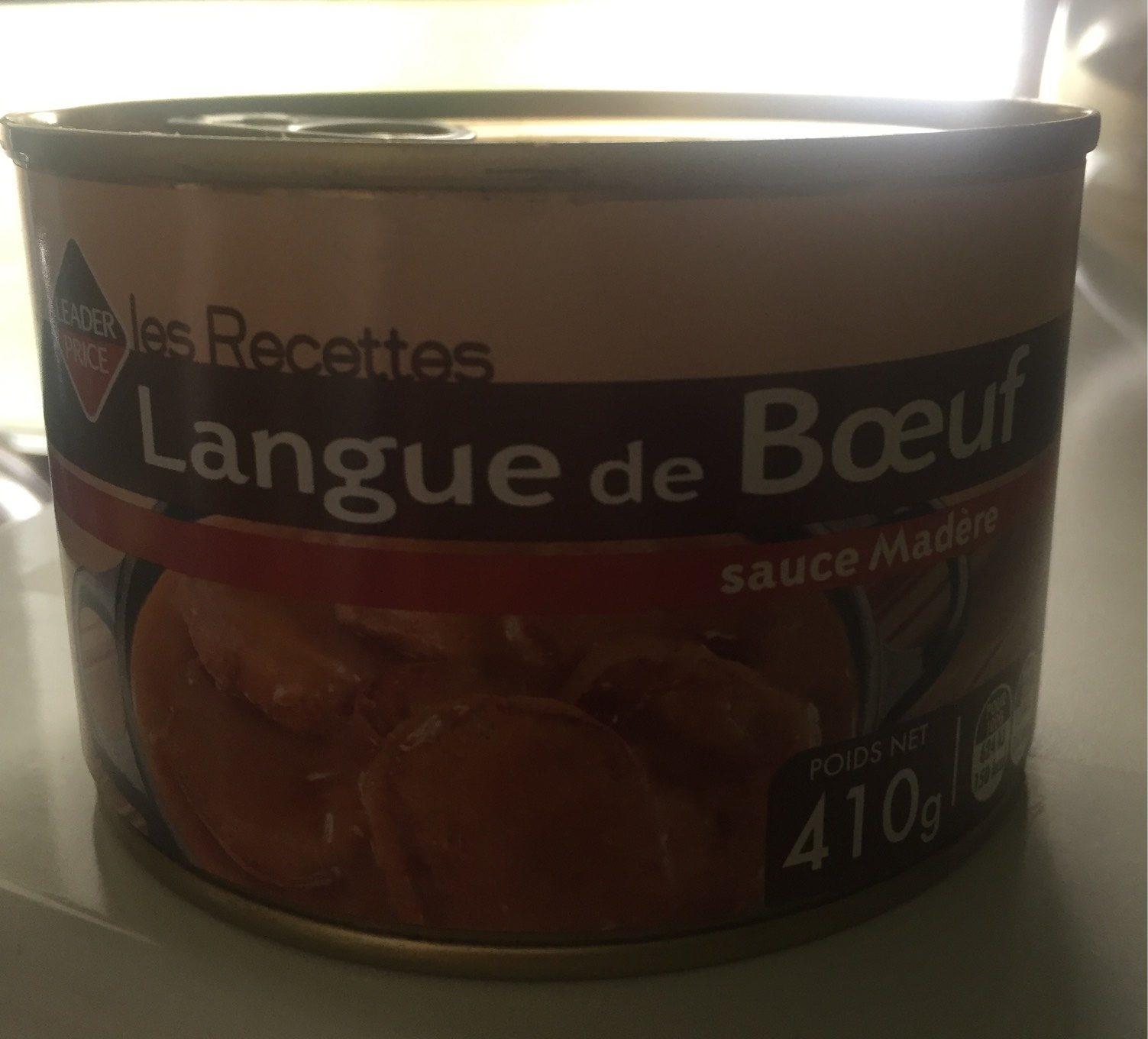 Langue de boeuf sauce madere - Produit