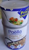 Paëlla volaille et fruits de mer (3 pers.) - Produit - fr