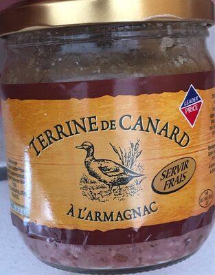 terrine de canard a l'armagnac - Produit
