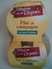 Pâté de campagne au porc breton - Product