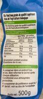 riz thai bio - Valori nutrizionali - fr