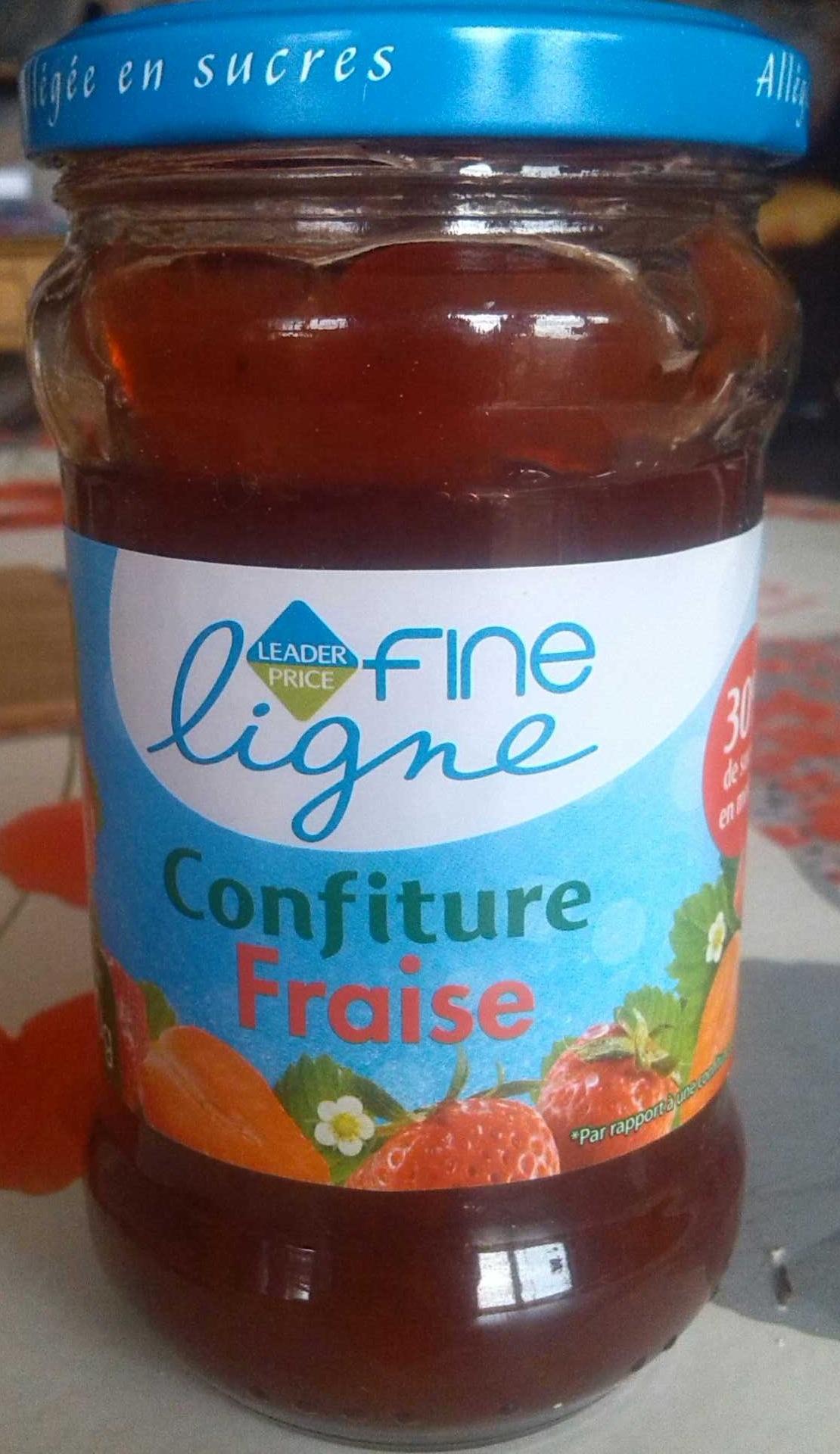 Fine Ligne Confiture Fraise - Produit