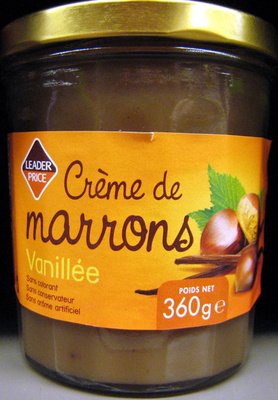 Crème de marrons vanillée - Product