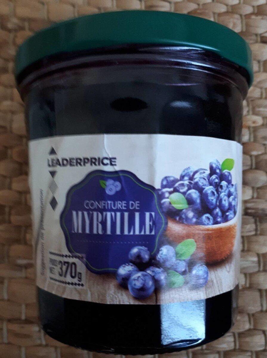 Confiture de myrtille - Product - fr