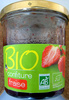 Confiture extra de fraise Bio Leader Price - Product