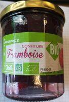 Confiture de framboise bio - Product - fr