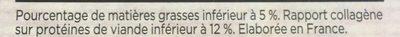Steack haché - Ingrédients - fr