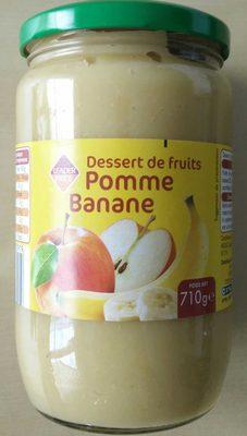 Dessert De fruit pomme banane - Produit - fr
