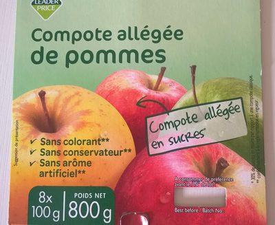 Compote Allégée de Pommes - Produkt - fr