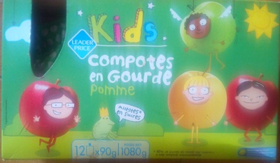 Compotes en gourde Pomme - Product
