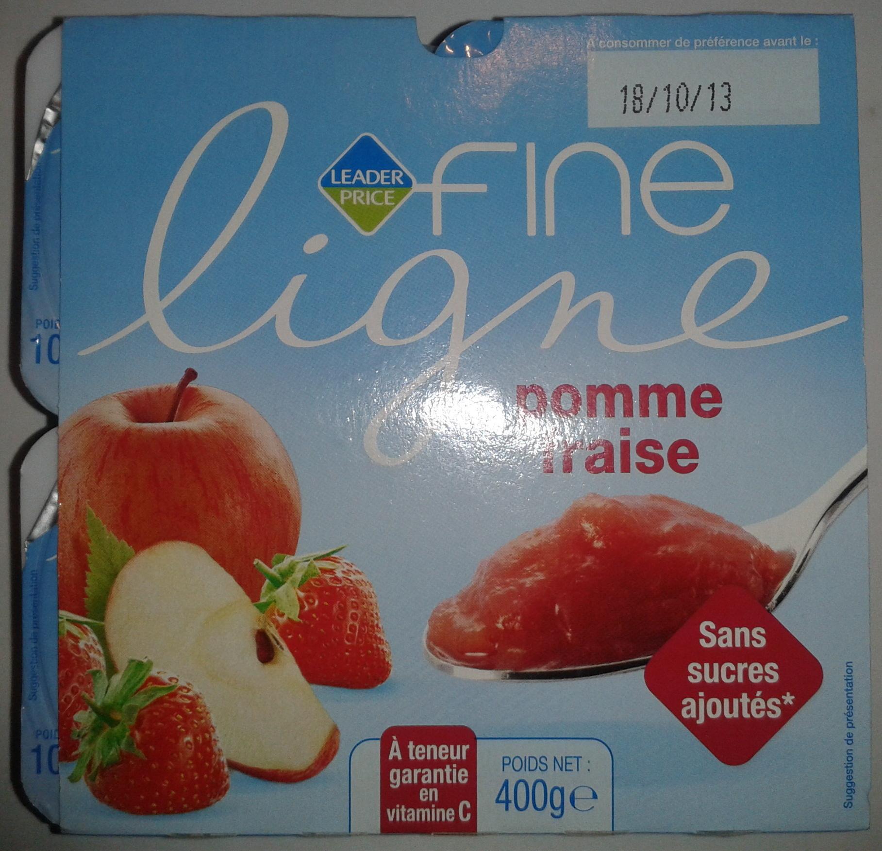 Fine ligne pomme fraise 400 g - Product - fr