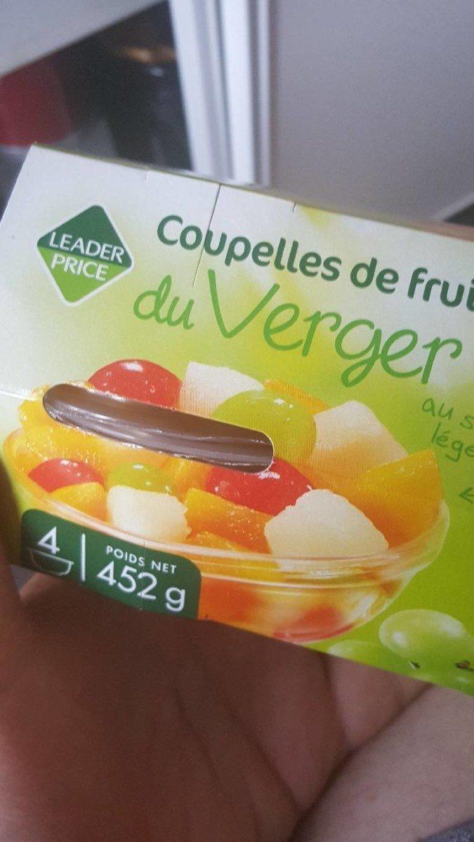 Coupelles de Fruits - Product