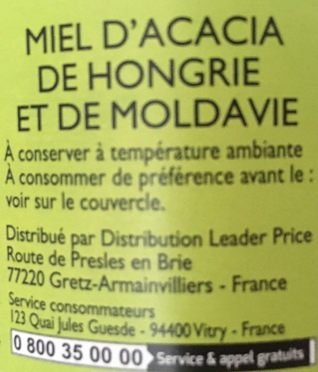 Miel - Ingredients - fr