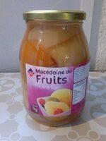Macedoine De Fruits Au Sirop Léger - Produit - fr