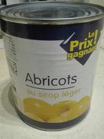 abricots au sirop léger - Produit - fr