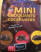 Mini croquants cacahuètes - Product - fr