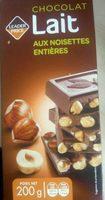 Chocolat au lait noisettes entières - Product