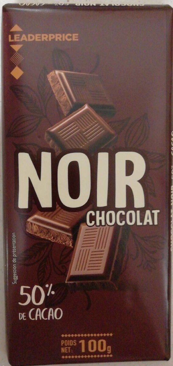 Chocolat noir 50% de cacao - Prodotto - fr