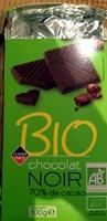 Chocolat noir 74% de cacao bio - Product