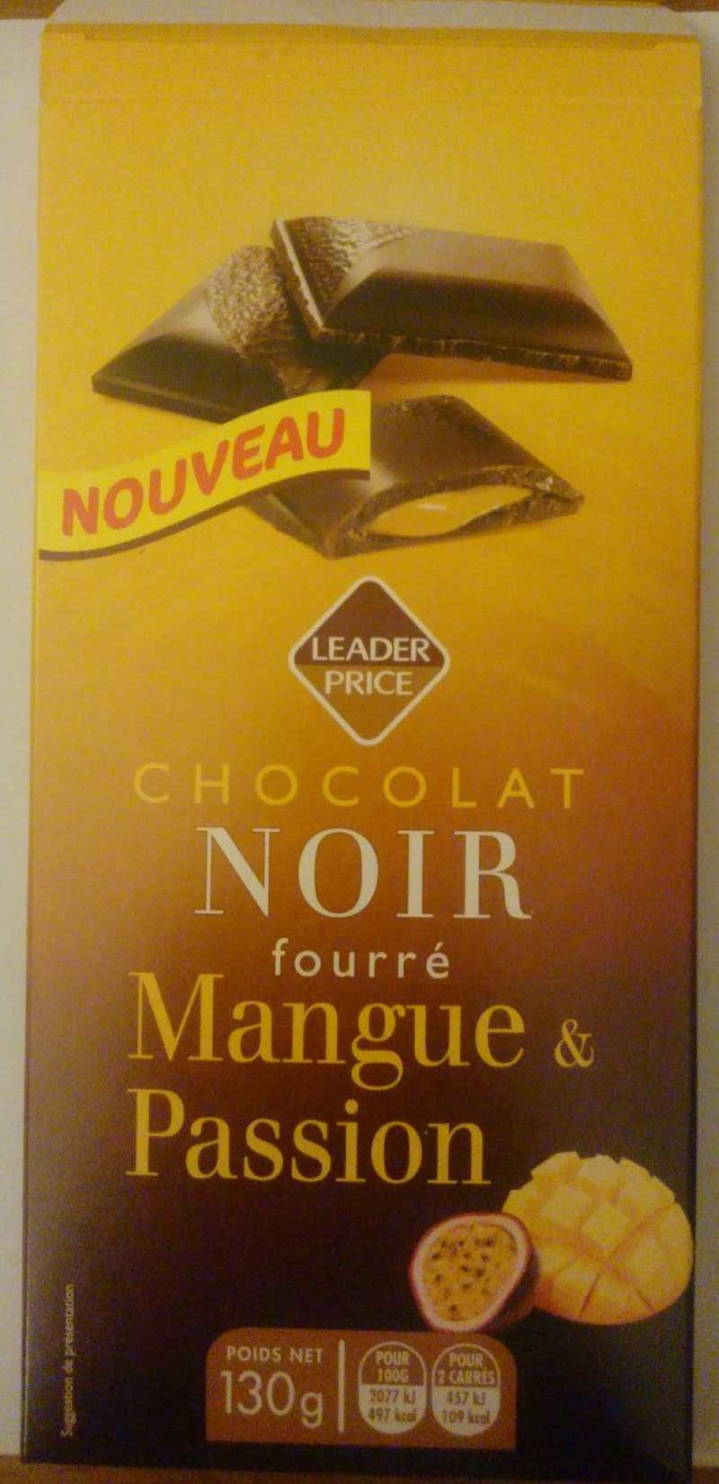 Chocolat Noir Fourré Mangue & Passion - Produit - fr